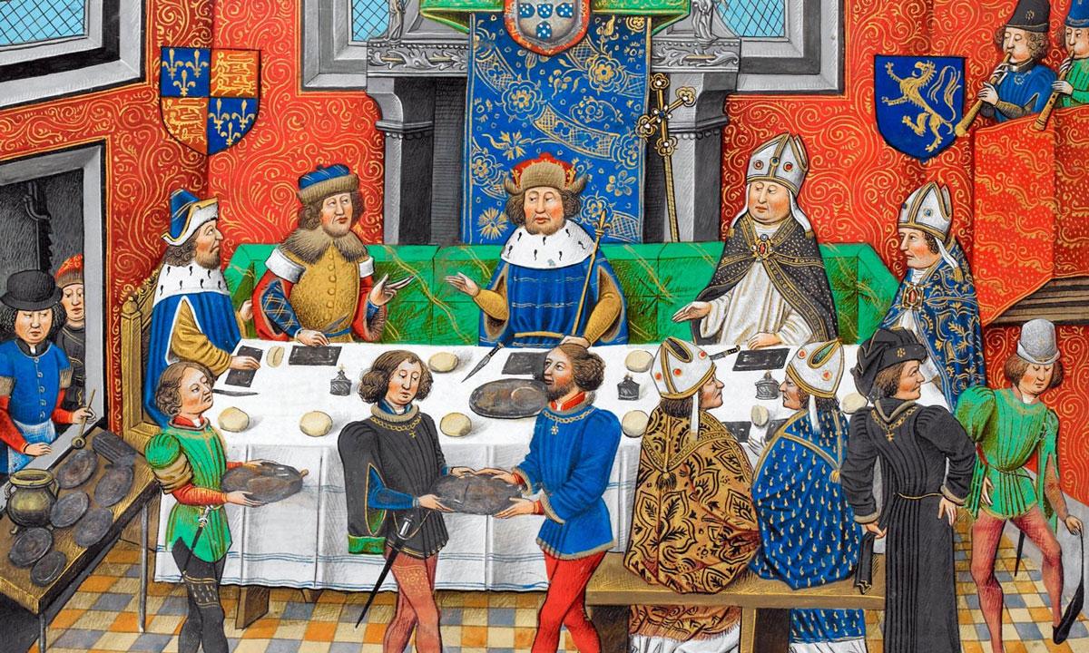 paggi medievali
