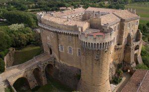 Suze-la-Rousse-castle
