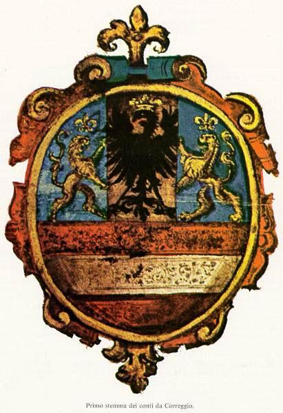 Stemma dei conti di Correggio.